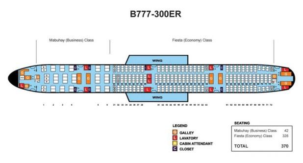 Delta boeing 777 300er seat map for Plan cabine 777 300er