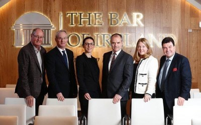 Hedrick Speaks To The Bar of Ireland On Trials In The U.S.