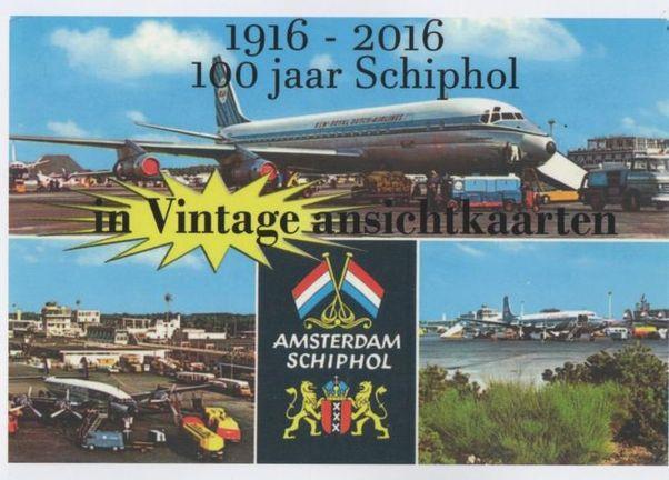 Resultado de imagen para 100 jaars Schiphol