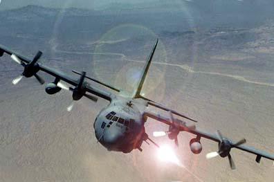 ac130 AC 130 Gunship Savaş Uçağı