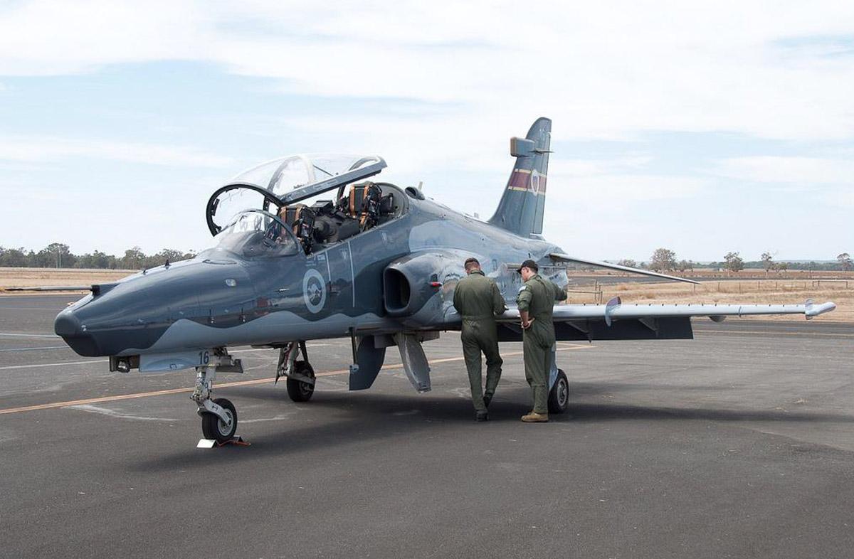 The Hawk 127 at the Busselton Aerofest.