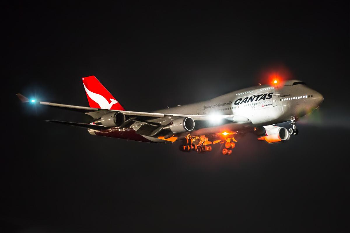 Aircraft Landing Hudson