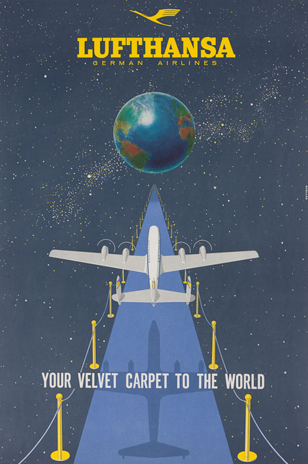 Vintage Posters Of European Airlines Aviatstudios Com