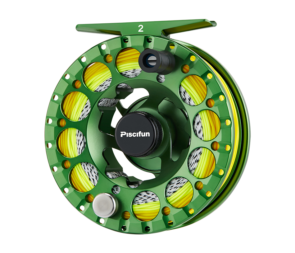 Piscifun Sword II Fly fishing Reel 3/4 5/6 7/8 All sealed Drag CNC Machined Aluminium Alloy Right Left Hand fly Fishing coil 9
