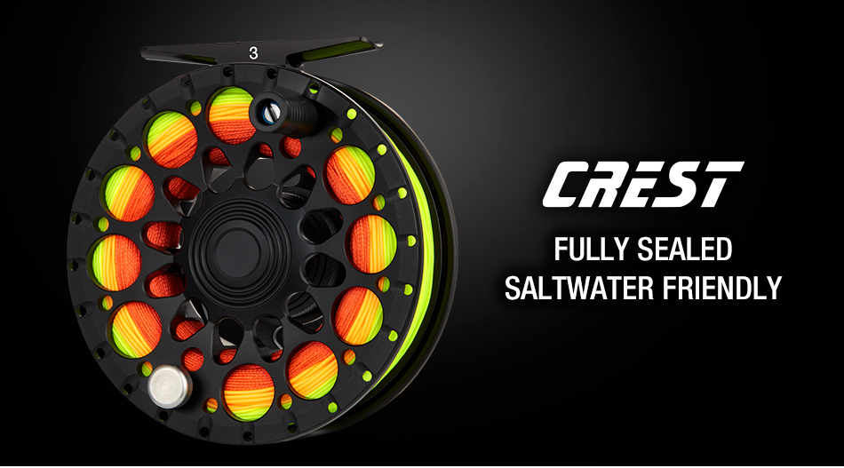 Piscifun Crest Black Fly Reel Fully Sealed Drag CNC Machined Aluminium Alloy Right Left Hand Retrieve Fly Fishing Wheel 2