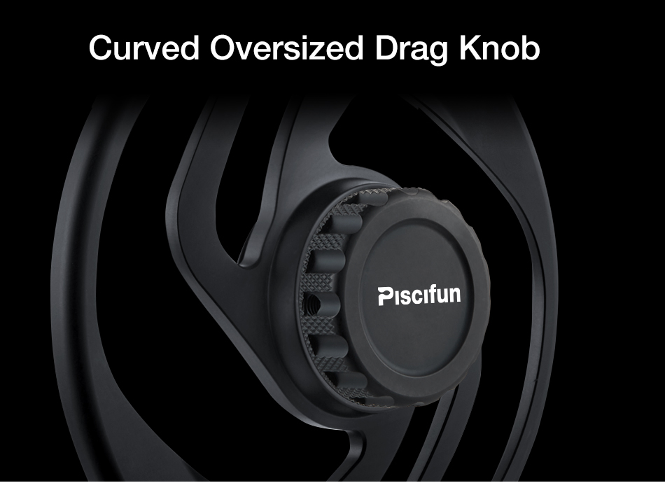 Piscifun Crest Black Fly Reel Fully Sealed Drag CNC Machined Aluminium Alloy Right Left Hand Retrieve Fly Fishing Wheel 8