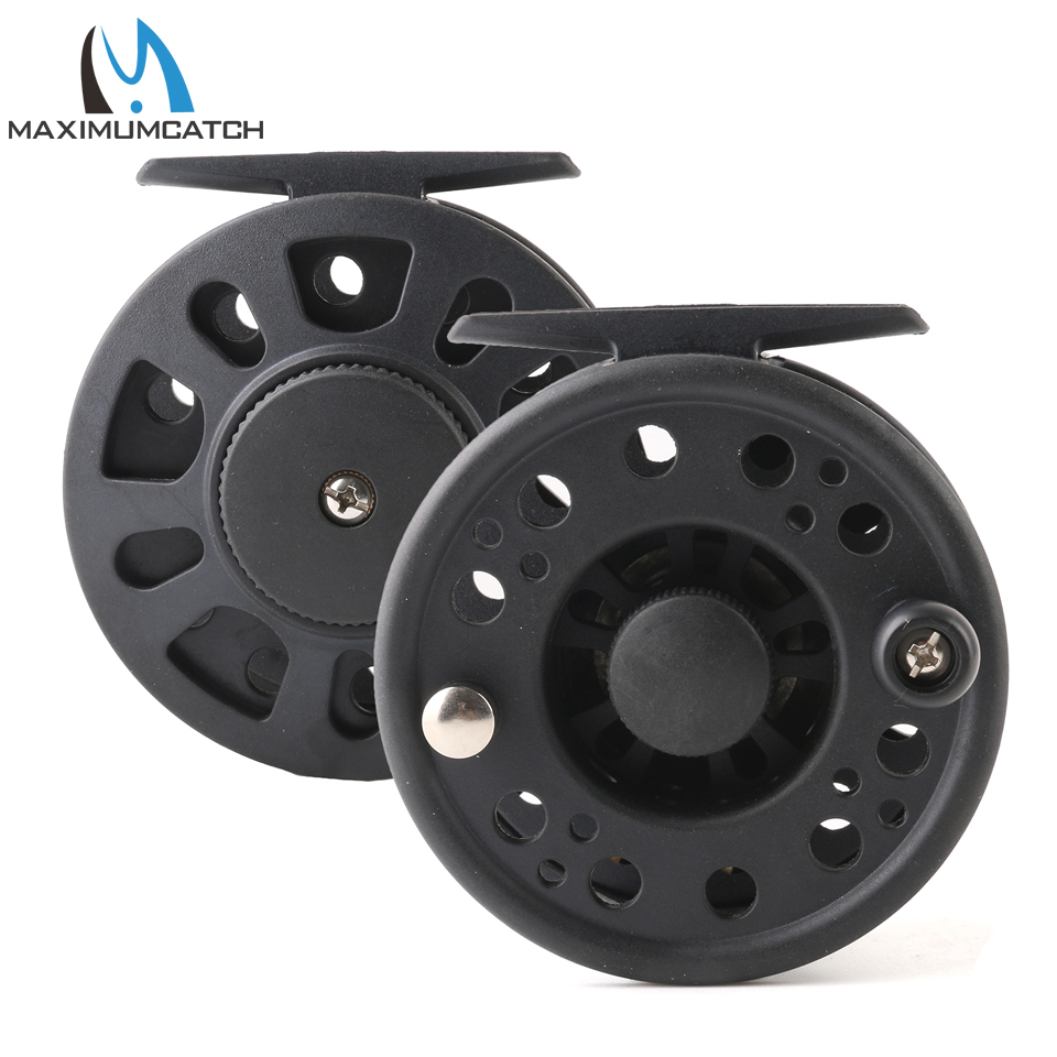 Maximumcatch 1-8WT Plastic Fly Fishing Reel Right Or Left Can Be Changed Plastic Fly Reel 4