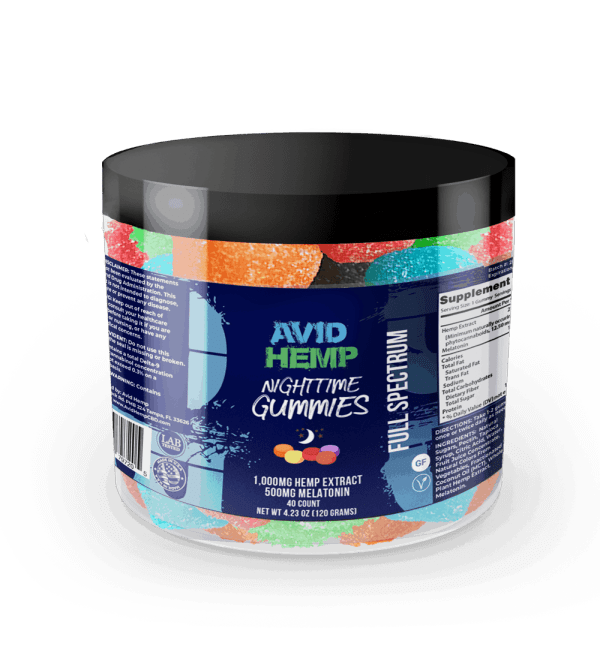 CBD Nighttime Gummies
