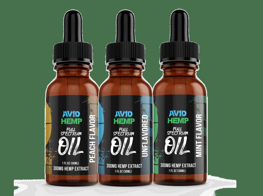 CBD Oils Avid Hemp