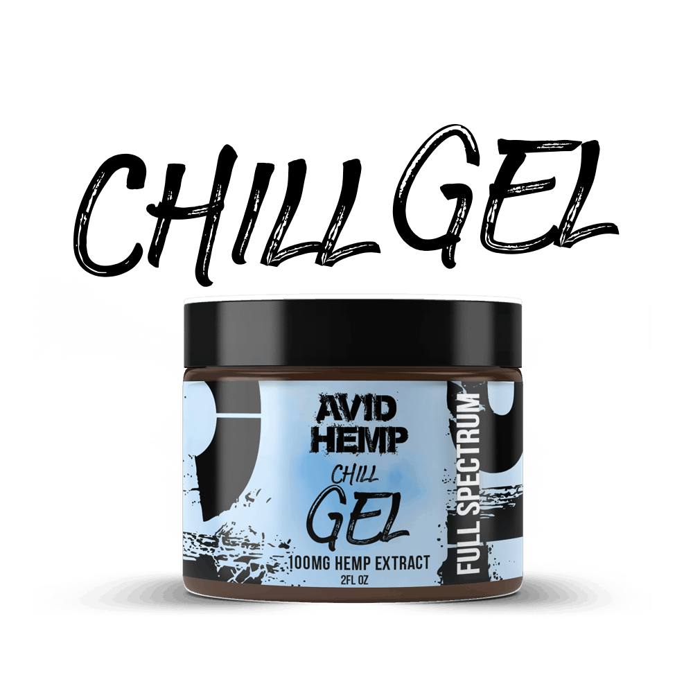 avid hemp chill gel