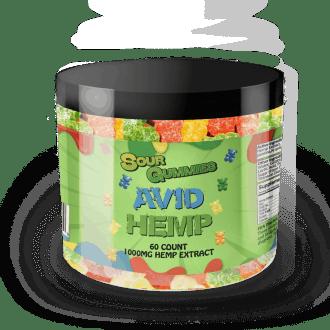 CBD Sour Gummies 1,000mg