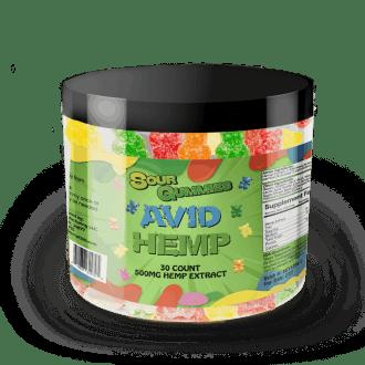 CBD Sour Gummies 500mg