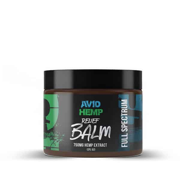 cbd balm 750mg avid hemp