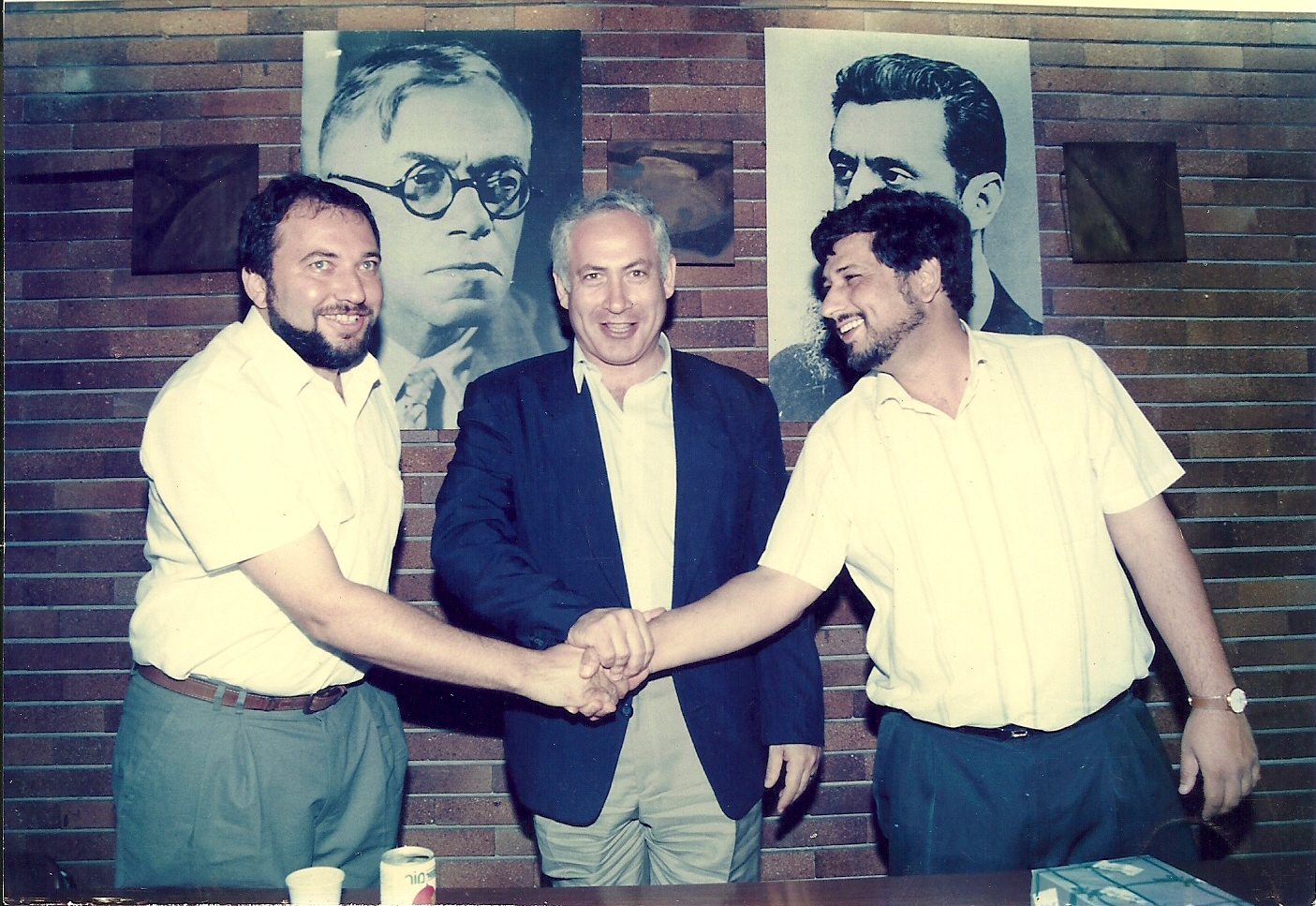 Image result for либерман нетаниягу выборы 1996
