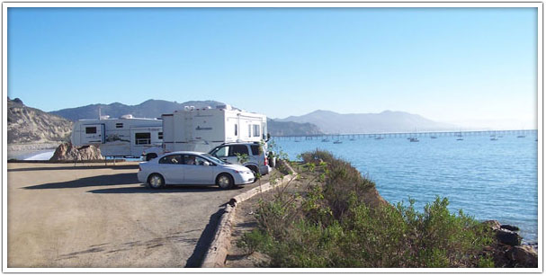 Port San Luis RV Camping By The Pacific Ocean