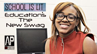 School Is Lit series Education Is The New Swag This project's goal is to make education cool among young people. Photography and idea by Avila Production, Alex Avila.