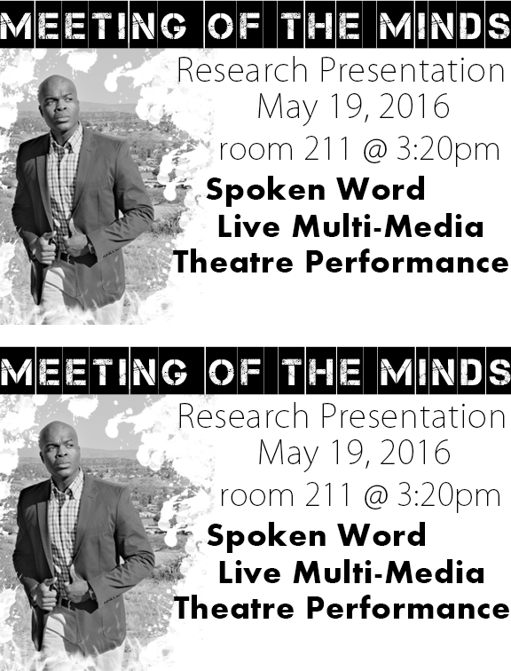 Meeting Of The Minds Symposium presentation flyer