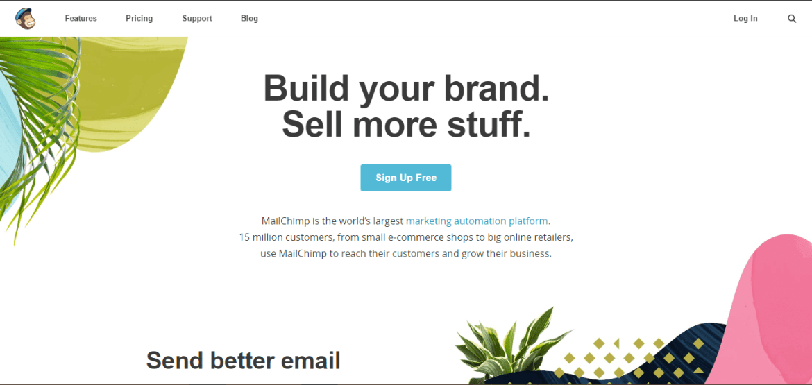 Digital Marketing Tool mailChimp