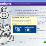 Backup your Files/Folders and computer online with Carbonite 3