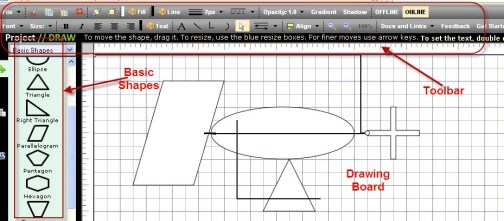 Draw Interface