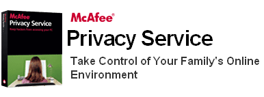 McAfee privacy service