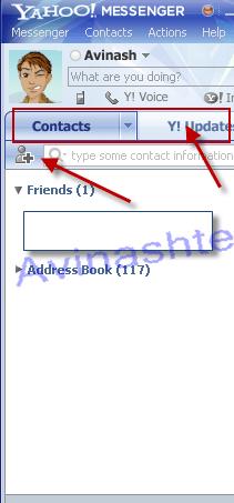 Yahoo messenger 10 pre alpha tabs
