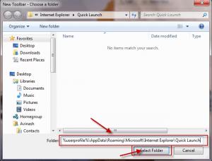 Quick Launch Windows 7 - 2