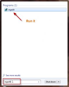 Windows 7 Fast Shutdown
