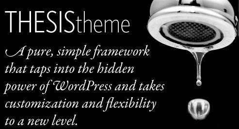 thesis theme tap - Why $87 is too little for Thesis Premium Wordpress theme