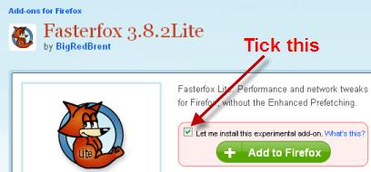 fASTERFOX LITE