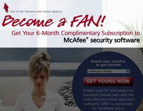 mcafee facebook 480x375 - Grab 6 months McAfee Anti virus Plus subscription again For FREE