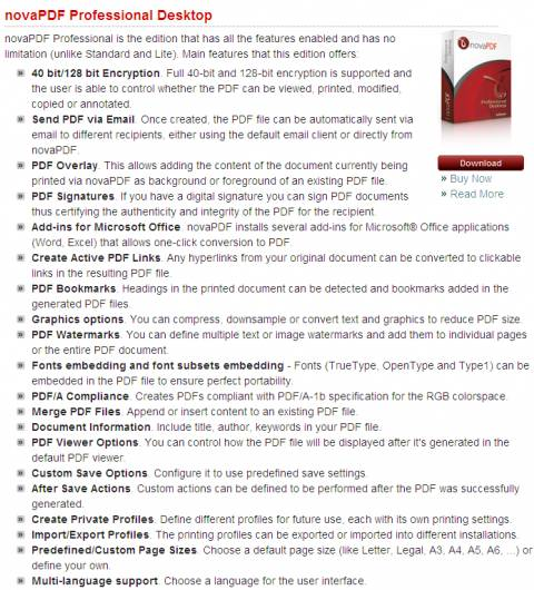 Exclusive Giveaway - NovaPDF Pro : Create better PDF files easily 4
