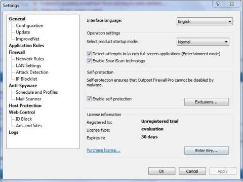 Review: Outpost Firewall and Giveaway of 1 year Genuine Licenses 4