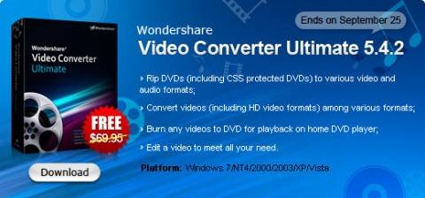 Grab Wondershare Video Converter Ultimate for FREE 2