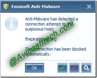 antimalware block