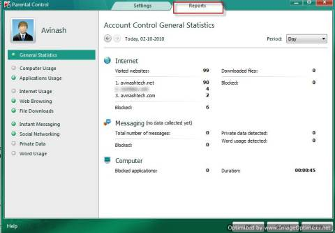 How to configure and use Kaspersky Parental Control 7