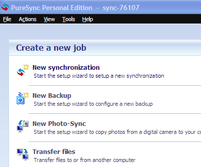 PureSync: Synchronize, Backup files and folders over FTP/ Computers 4