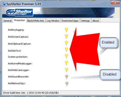 ABC 25: Spyshelter Anti keylogger Review and License Giveaway 2