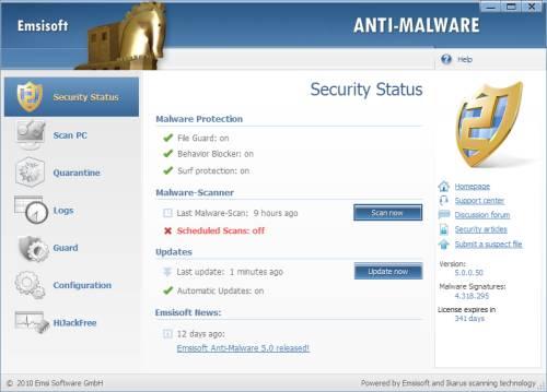 ABC 11: Emsisoft Anti-Malware License Giveaway 2