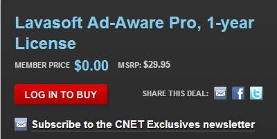 Free Lavasoft AdAware license key1