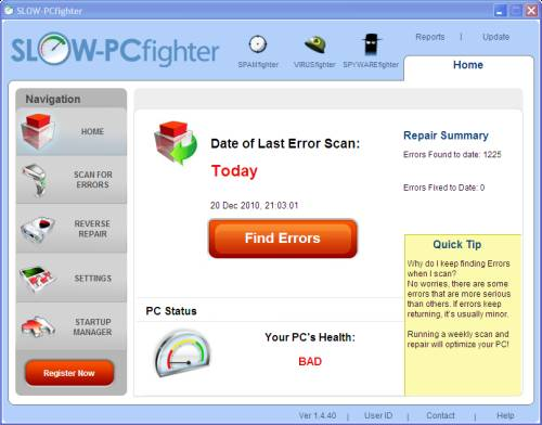ABC 21:Optimize your PC with SLOW-PCfighter and license Giveaway 1