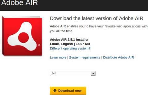 How to Install AIR & TweetDeck in Linux [Ubuntu] 1