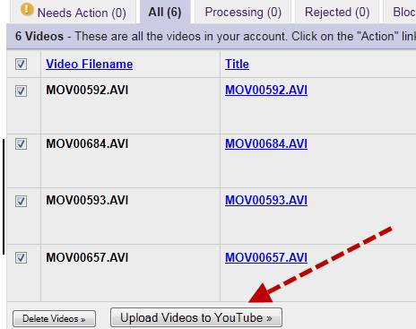 Download or Upload Google Videos to youtube before May 13 2