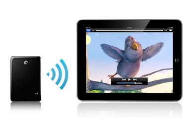 How to Connect iPad with 500GB Wireless Hard disk drive 3