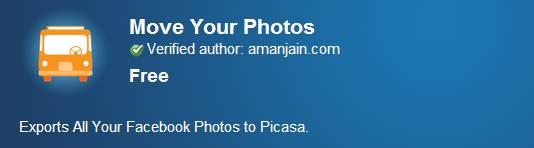 Move Your Facebook Photos