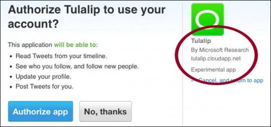 Microsoft Social Search Tulalip revealed accidently 2