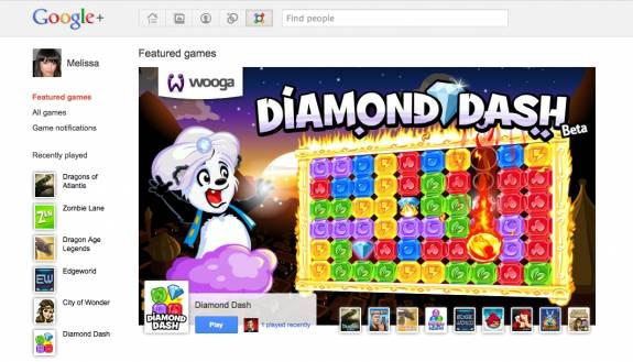Google+ Games gets LIve and being rolled out to everyone slowly 1