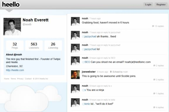 Twitpic Founder launches Twitter clone Heello 2