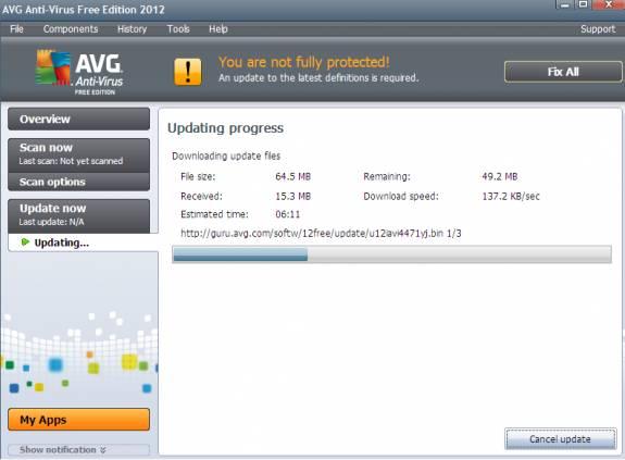Free AVG Antivirus 2012 released [Review] 2