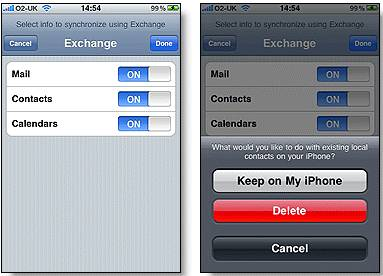 Import Gmail contacts to Iphone and iPad 3